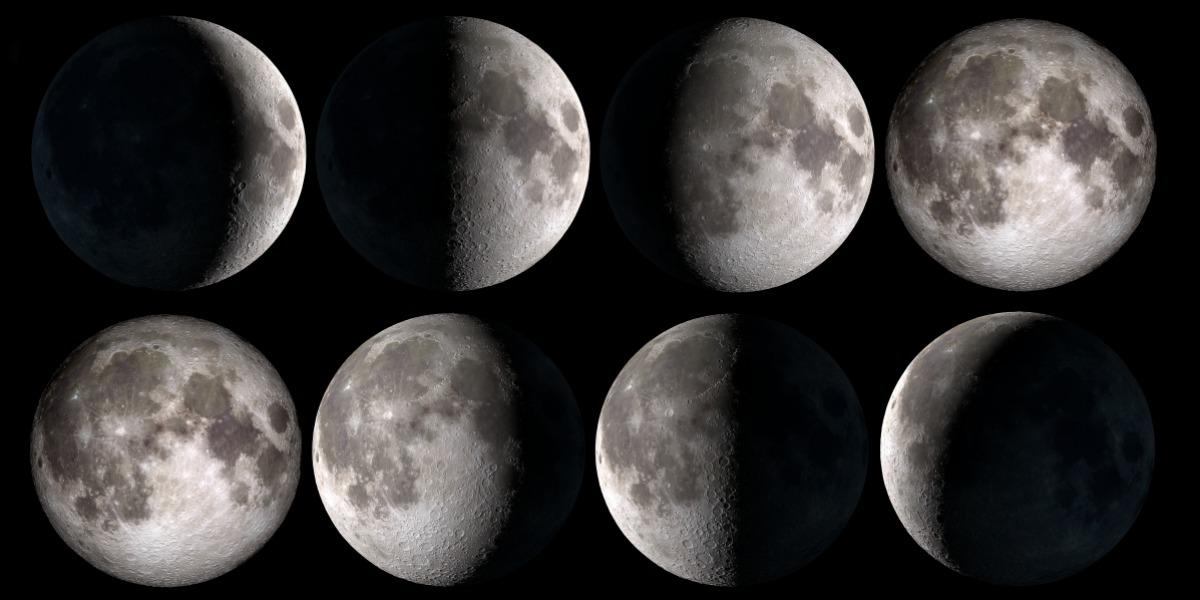 【2021年新月。滿月。日食。月食】下半年月相時間表